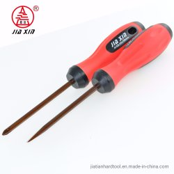 Utensile manuale magnetico molle rosso del cacciavite della maniglia S2 di TPR