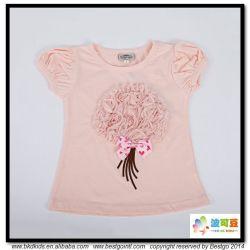 جديدة تصميم طفلة مظهر فقاعات كم قميص حديث ولادة