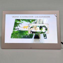 El 15,6 ips de lujo en el marco de fotos digital conaleación de aluminio Shell