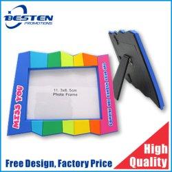 O logotipo personalizado do Arco-Íris coloridos de resina OEM Retratos de PVC de Borracha