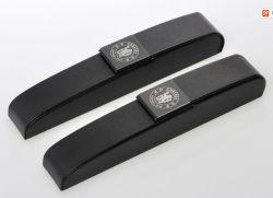 Cuadro de pluma de cuero caja Pencial Pen caso Embalaje (22).