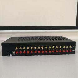 16 ports 128sims Modem GSM Pool pour envoyer des SMS avec la rotation de la carte SIM