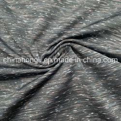 ヨガのための四方伸張のヤーンの染料の編むファブリック単一のジャージーP/Sp 92/8