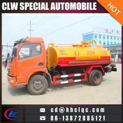 سيارات متعفّرة 4x2 5m3 6m3 شاحنة شفط مياه الصرف الصحي تفريغ شاحنة متعفّرة