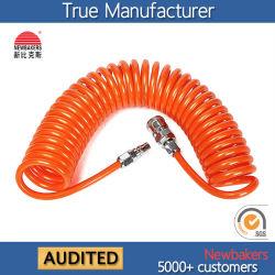Neumática de la manguera hidráulica de la bobina de PU la manguera del tubo de aire (8*5 6M)