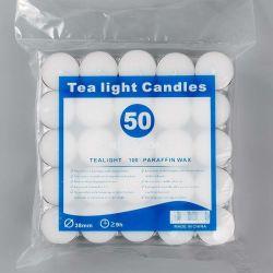 Tempo de gravação de 4 horas Tealight coloridos para decoração de velas