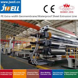 De HDPE/PVC/EVA/Tpo Folha geomembrana de equipamentos de extrusão