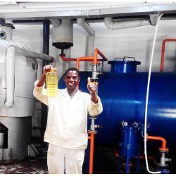 Huile de cuisson Press/raffinerie/Extraction de la machine pour faire de la noix de coco/Palm/soya/le son de riz//tournesol d'arachide/Sesame/Olive
