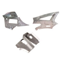 O cliente Precision Metal automática dos flanges de estampagem e Suportes