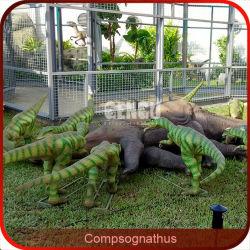 Garten-dekorativer Dinosaurier-im Freien lebhafte Dinosauriere