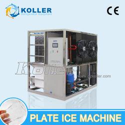 Aprovado pela CE 1000kg / dia máquina de gelo da Placa de preço para a utilização diária