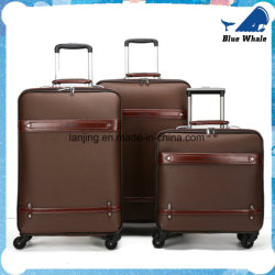 PU Roue universelle Valise Trolley Business Travel cas