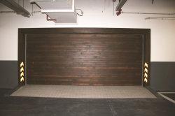 Industrial de la puerta automática de laminación de puerta de garaje con mando a distancia Co