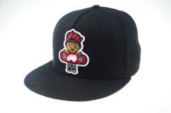 De forma personalizada Hat 3D Bordados Borda Plana Snapback Pac