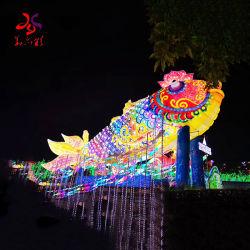 Piscina decorativa personalizáveis 3D férias de Natal Parte Motif luz de LED