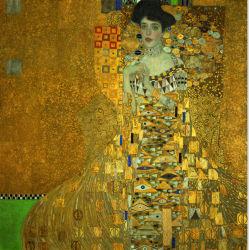 고품질 실크 스카프를 인쇄하는 디지털에 사용되는 Klimt 예술