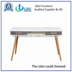 Ordinateur de bureau de l'ordinateur portable Ordinateur de table Table en bois de petite taille Portable Ordinateur de bureau pour l'usage de bureau à domicile