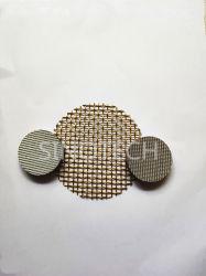 Filtre à mailles métallique en laiton et ss