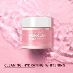 2020 Venta caliente Australia Private Label orgánica Natural Puro de Rosa hidratante de Suavizado de máscara facial de arcilla