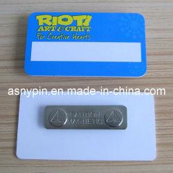 Balise du nom de l'aimant en plastique (ASNY-NT-TM-149)