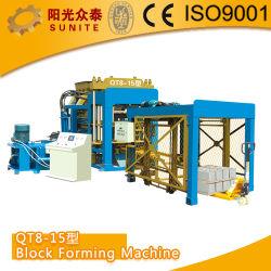 機械、小さい煉瓦作成機械(QT8-15)を作るブロック