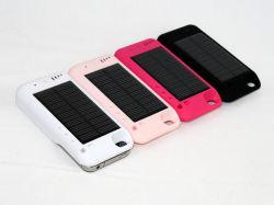 شاحن Emmergency Solar لمحطة iPhone 4G/4s Mobile Power Bank الحالة