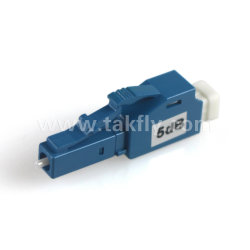3dB LC UPC femelle à mâle de l'atténuateur de fibre optique