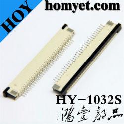 Verbinder des 1.0mm Abstand-32pin FPC für LCD-Bildschirm (HY-1032S)