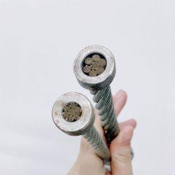 6mm 직경 유연한 철강선 밧줄 케이블 7X19 철 밧줄