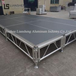 Alta Qualidade portátil ajustável em fase de alumínio Equipamentos para concerto de evento mostrar