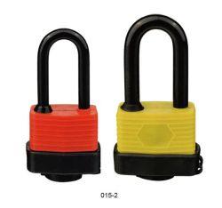 Alta segurança à prova de aço laminado cadeado (015-2/3)