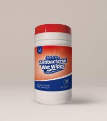 Fonction ensemencés antibactérien Non-Alcoholic lingettes humides