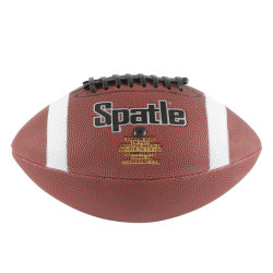 Logotipo impresso personalizado Machine-Stitched bola de futebol americano OEM composto de jogos