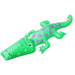 어린이 인플식 스프링클러 물 분무 악어 장난감 잔디 야외 정원 어린이 스프링클러 동물