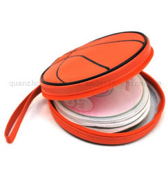 OEM Custom Basketball Shape CD DVD VCD opbergtas