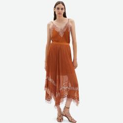 شريط شريط [أسمّتريك] تول فصل صيف عرضيّ نساء ثياب