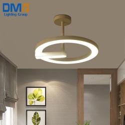 Nuevo diseño de lámpara LED de ahorro energético Círculo Colgante Accesorio de iluminación
