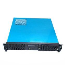 Zet het Industriële Rek van de douane het Geval van PC van Itx van de Chassis van de Server van de Computer 2u op
