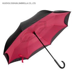 يدويّة رأسا يعكس تصميم [سون] ومطر عادة عكس مظلة شمسيّة