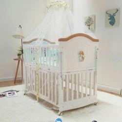 New Born Baby Crib lit bébé en bois de l'organiseur En-71 confortable Parc lit bébé à bascule pour bébé