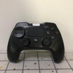 وحدة تحكم لاسلكية لـ Playstation 4، Professional لـ PS4 Gamepad، Touch Panel Joeforing مع خاصية الاهتزاز المزدوج، طريقة فورية لمشاركة أسهم التحكم