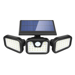 IP65는 옥외 재충전용 Li 이온 건전지 LED 지능적인 태양 정원 빛을 방수 처리한다