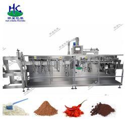 Shang Hai Grânulo Automática Horizontal Zipper Doypack máquina de embalagem Bolsa Alimentação/ Medicamentos veterinários /detergentes em pó//sumo/chá com leite /Grão