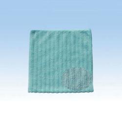 Reinigungstuch mit Streifen aus Mikrofaser (CN3639)