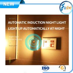 En la pared 110~240V Humen automático generador de ozono del sensor de luz nocturna el anión Releaser pm. 2.5 El purificador de aire para baño / cocina / sala de estar