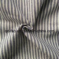 A roupa/algodão/Poli fios mista do tecido tingidos (QF13-0748)