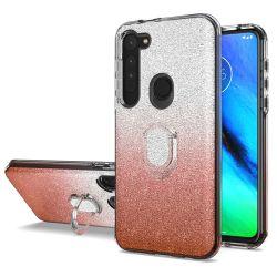 Новые поступления Strong мобильного телефона противоударная блестящих документе PC Crystal с кольцевой держатель для мото G стилус