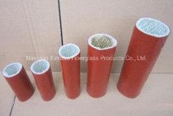 방열 고온 저항성 실리콘 코팅 섬유 유리 화재 슬리브