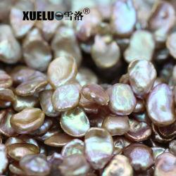 10-12mm AAA Qualität Lavendel kultivierte Keshi barocke echte echte Perle-Zeichenketten (XL190029)
