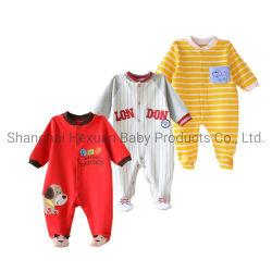 Baumwollneuer Entwurfs-Baby-Spielanzug 100%